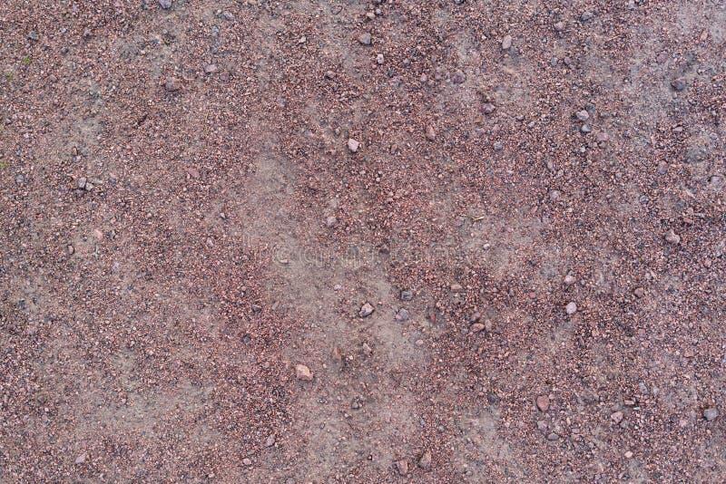 Struttura porpora rossa della ghiaia del granito immagine stock