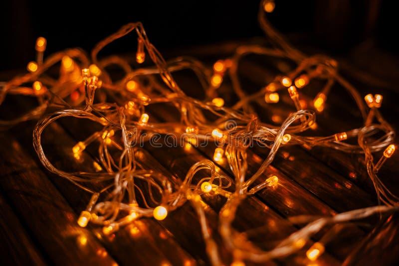 Struttura principale delle luci fotografia stock
