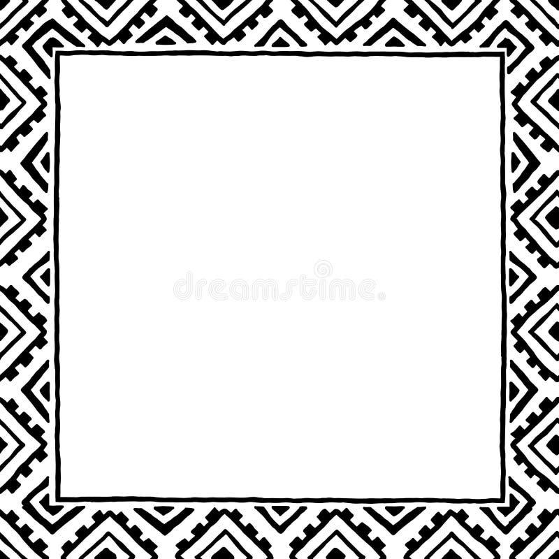 Struttura quadrata, fondo, modello Posto vuoto per il vostro testo illustrazione vettoriale