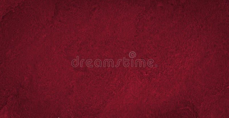 Struttura ricca dell'acquerello di Borgogna con i colpi lacerati e le bande Fondo astratto per progettazione, disposizioni, model immagini stock