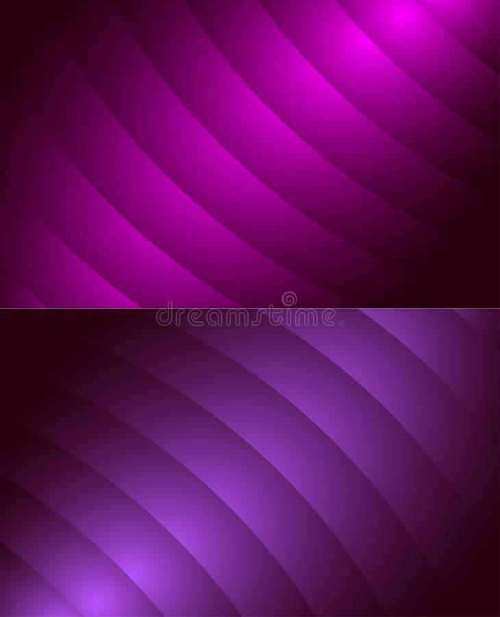 Struttura ripetitiva senza cuciture geometrica del modello di vettore delle onde eleganti delle ondulazioni royalty illustrazione gratis