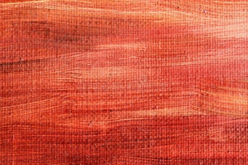 Struttura rossa del fondo dell'estratto della pittura a olio fotografie stock