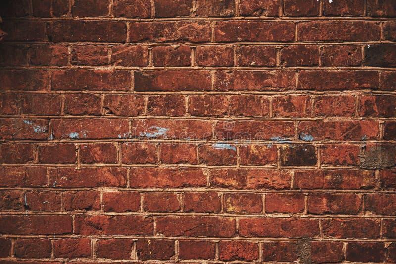 Struttura rossa del muro di mattoni immagine stock