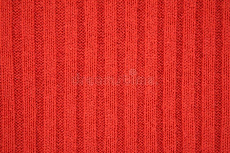 Struttura rossa della Jersey fotografie stock