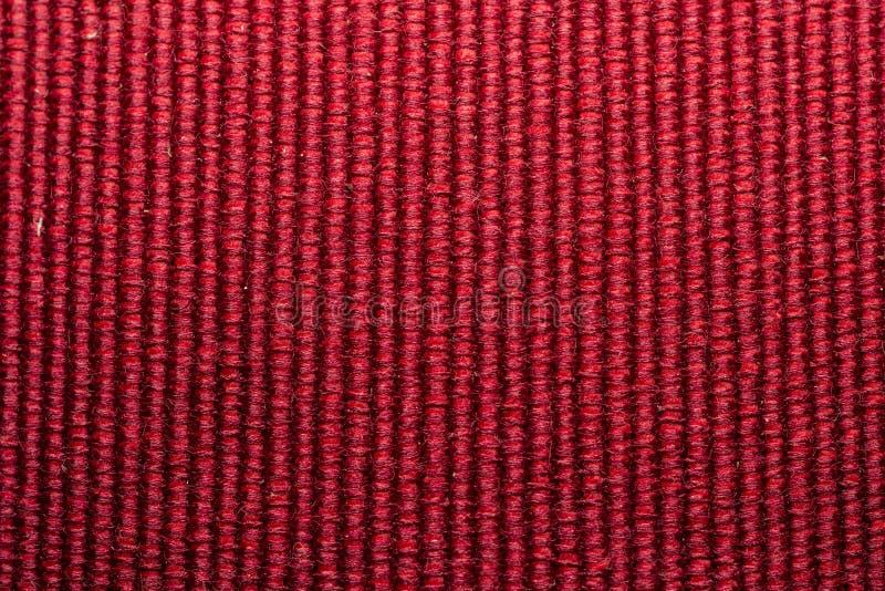 Struttura rossa delle lane fotografia stock