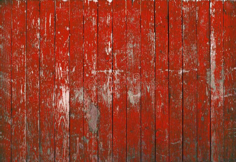 Struttura rossa di legno del fondo immagine stock libera da diritti
