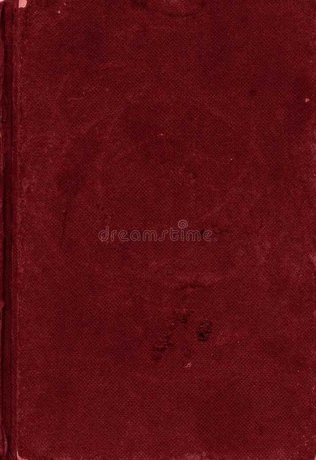 Struttura rosso scuro della tela di canapa immagine stock
