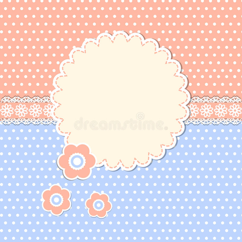 Download Struttura Rotonda Con I Fiori Illustrazione Vettoriale - Illustrazione di disegno, carta: 30831863