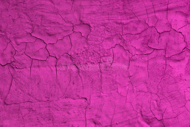 Struttura rotta a strisce creativa dello stucco di rosa - fondo astratto meraviglioso della foto immagini stock libere da diritti