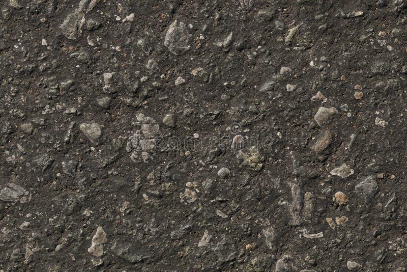 Struttura scura dell'asfalto per il modello fotografia stock libera da diritti