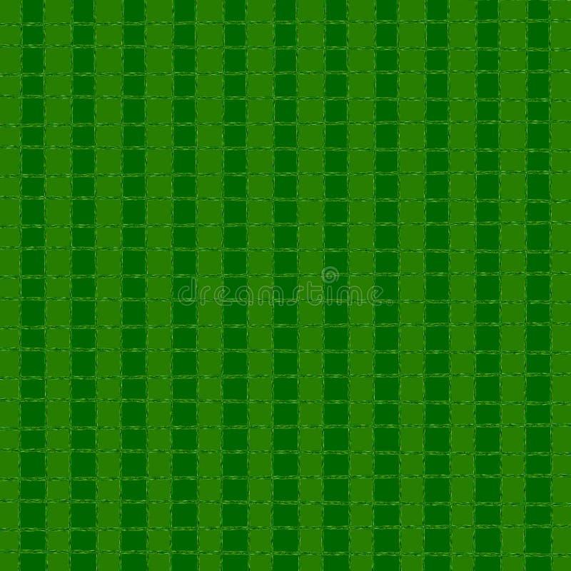 Struttura semplice di griglia Grata rettangolare lineare con le forme riempite royalty illustrazione gratis