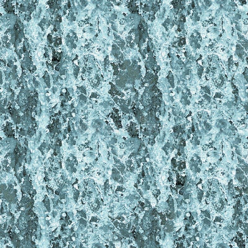 Struttura senza cuciture - acqua nella cascata immagini stock