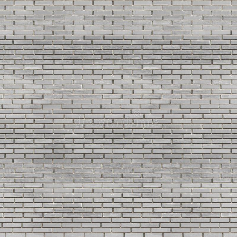 Struttura senza cuciture del muro di mattoni grigio scuro royalty illustrazione gratis