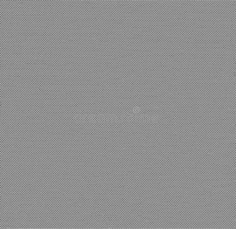 Struttura senza cuciture del tessuto in bianco e nero Mappa di struttura per 3d e 2d illustrazione di stock