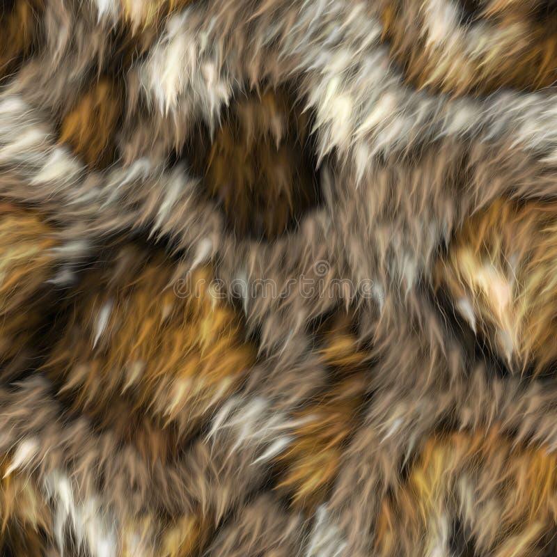 Struttura senza cuciture della pelliccia immagine stock