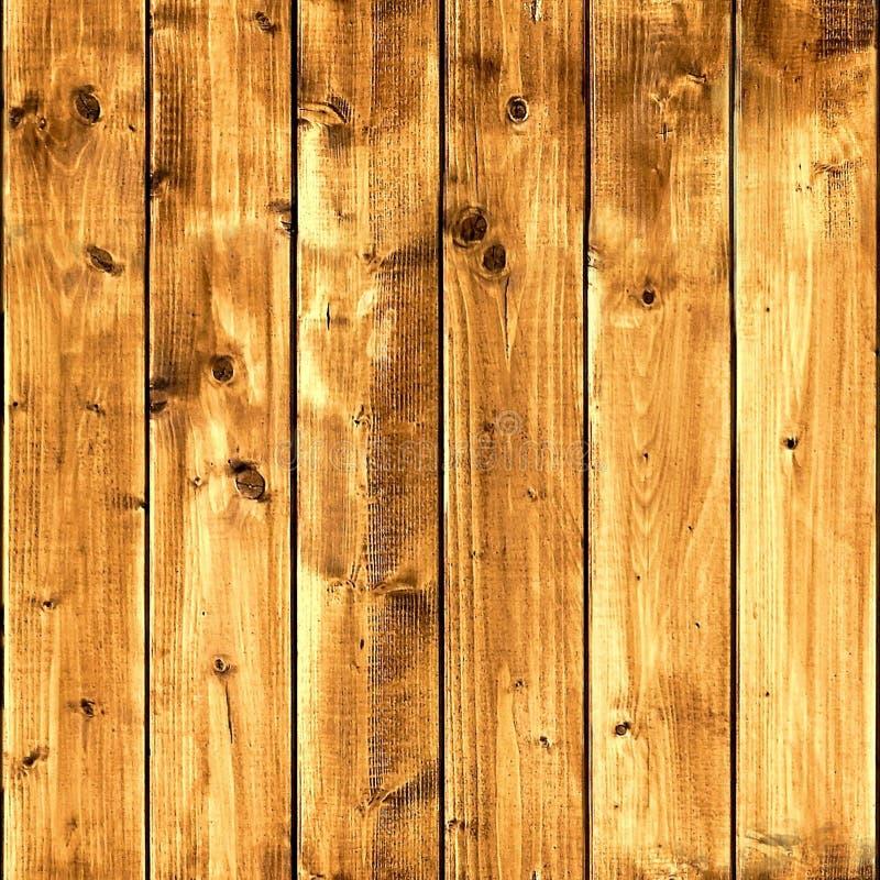 Struttura senza cuciture di marrone dei bordi di legno fotografia stock