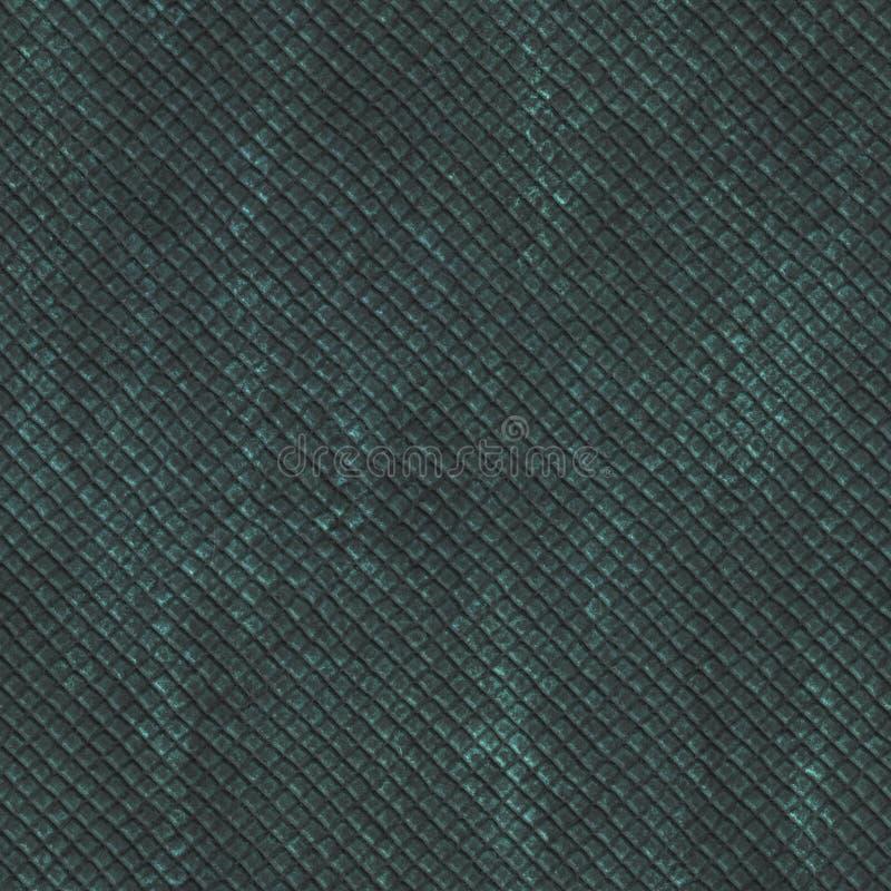 Struttura senza cuciture di rame con il modello geometrico su un fondo metallico dell'ossido illustrazione vettoriale