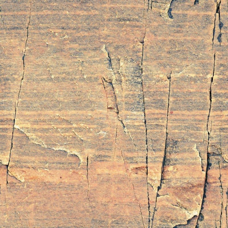 Struttura senza cuciture naturale - fondo rosso della superficie della roccia immagine stock libera da diritti
