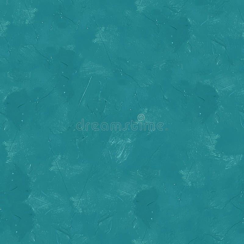 Struttura senza cuciture o fondo dello stucco blu della parete immagine stock libera da diritti