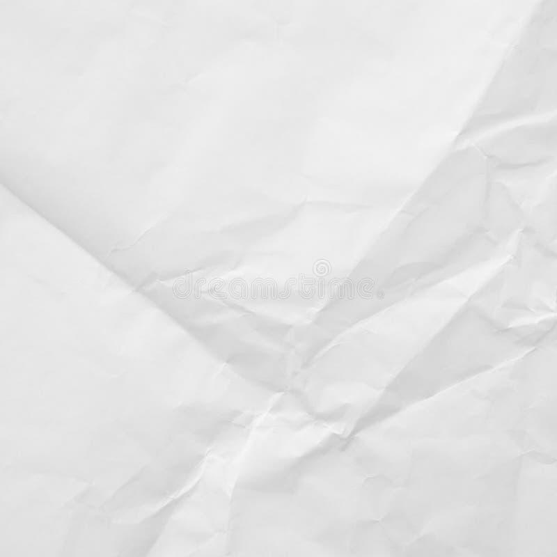 Struttura sgualcita del Libro Bianco fotografia stock