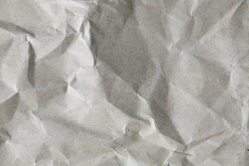 Struttura sgualcita del Libro Bianco immagine stock