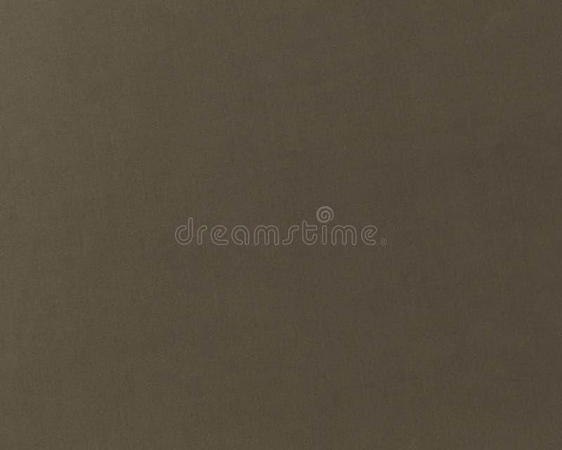 Struttura sottile del tessuto marrone puro e semplice del tessuto immagini stock