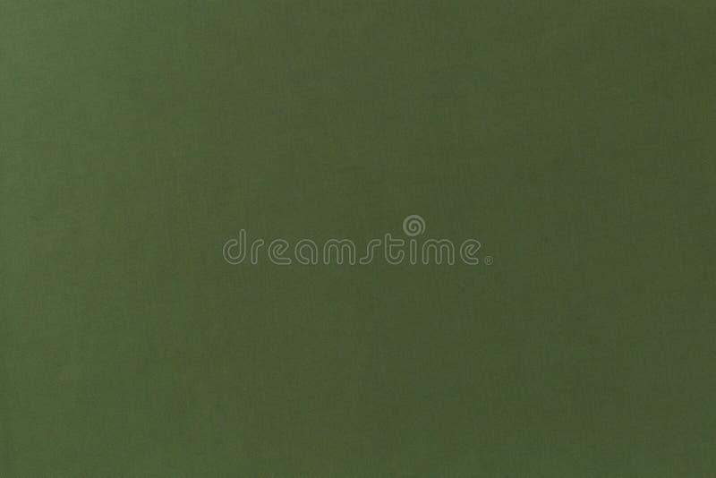 Struttura sottile del tessuto verde puro e semplice del tessuto immagini stock libere da diritti