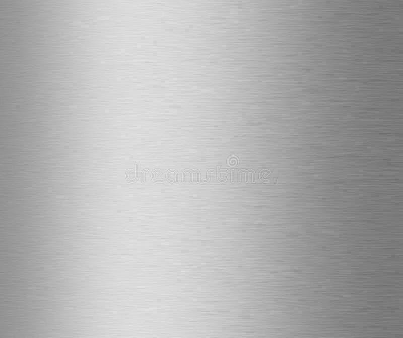 Struttura spazzolata del metallo fotografie stock libere da diritti