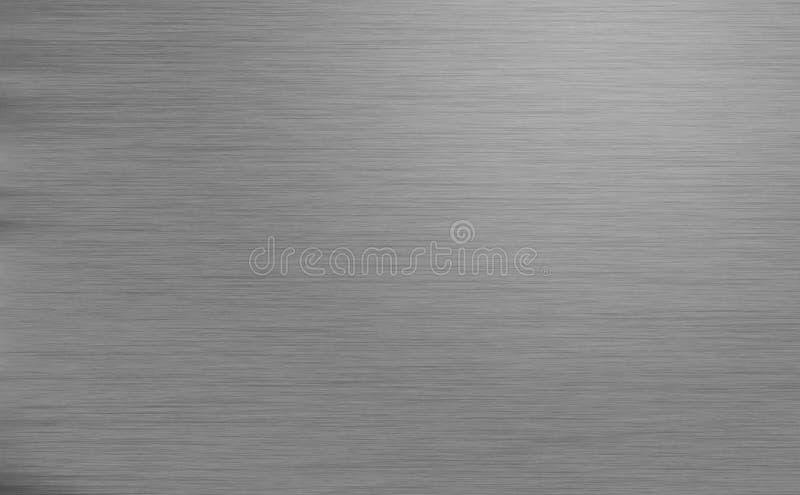 Struttura spazzolata del metallo immagine stock libera da diritti