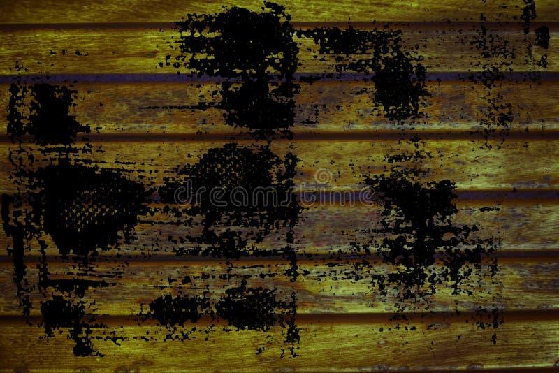 Struttura sporca della plancia del banco di legno di lerciume per il sito Web o i dispositivi mobili, elemento di progettazione fotografia stock