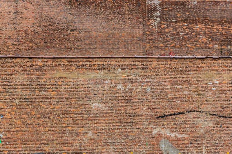 Struttura Stati Uniti del muro di mattoni di lerciume di New York Manhattan fotografie stock libere da diritti