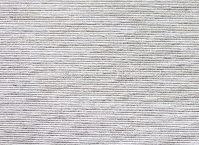 struttura a strisce di tessuto interno naturale grigio fotografia stock