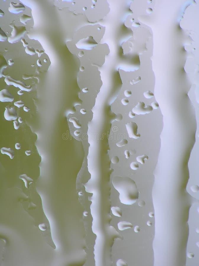 Struttura su vetro bagnato fotografie stock libere da diritti