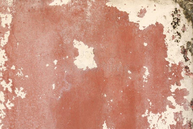 Struttura sulla parete rossa immagini stock