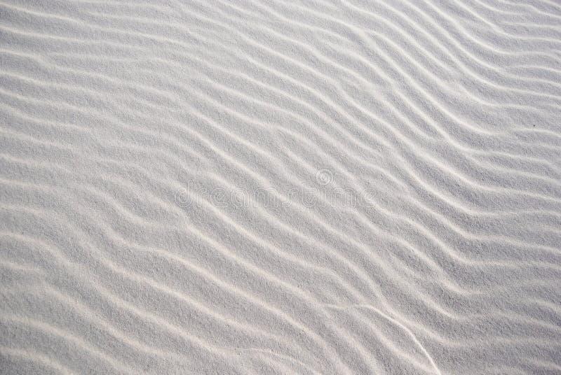 struttura sulla sabbia bianca fotografia stock
