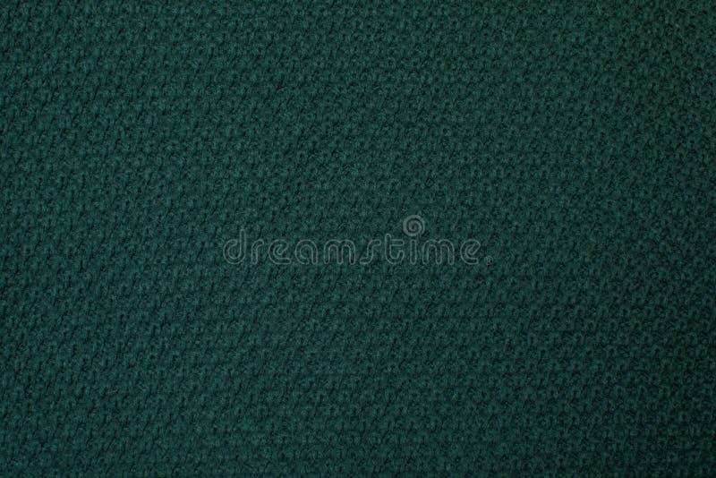 Struttura tricottata verde, vista superiore fotografia stock