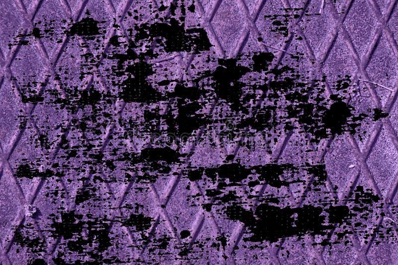 Struttura ultra porpora sporca dell'acciaio inossidabile di lerciume, fondo del ferro per uso del progettista royalty illustrazione gratis