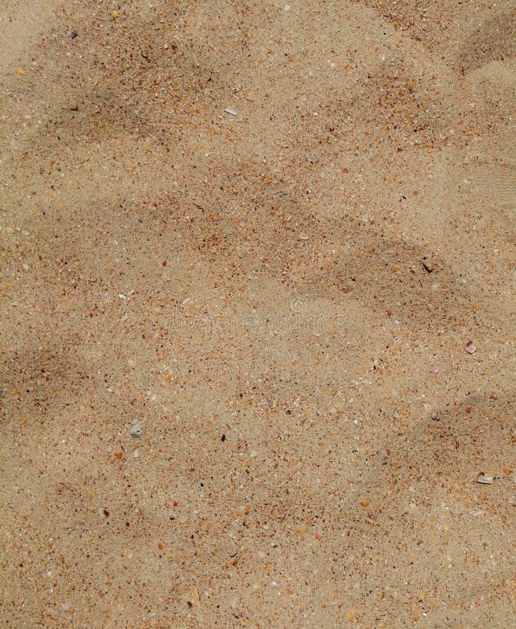 Struttura uniforme della sabbia pulita fotografia stock