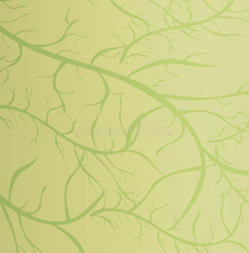 Struttura verde illustrazione di stock