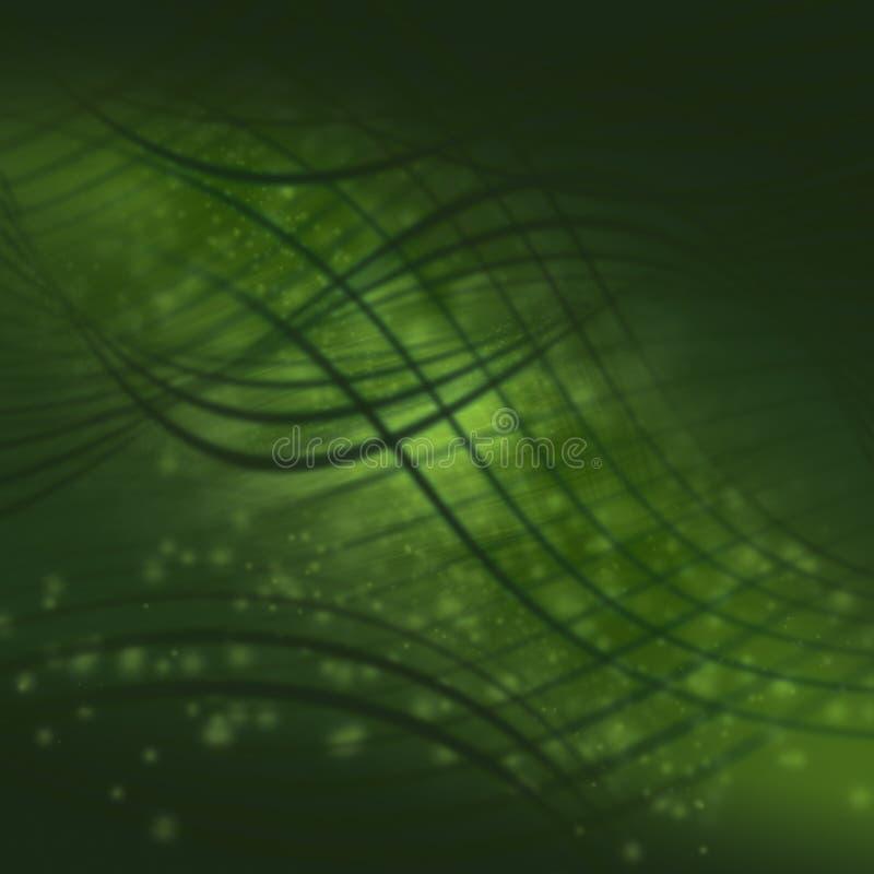 Struttura verde astratta della priorità bassa illustrazione vettoriale