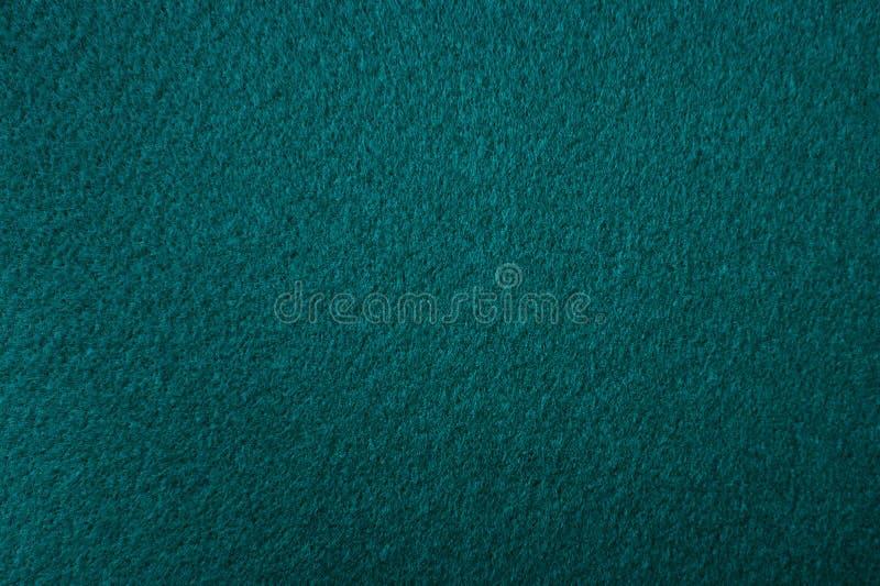Struttura verde blu del feltro immagine stock