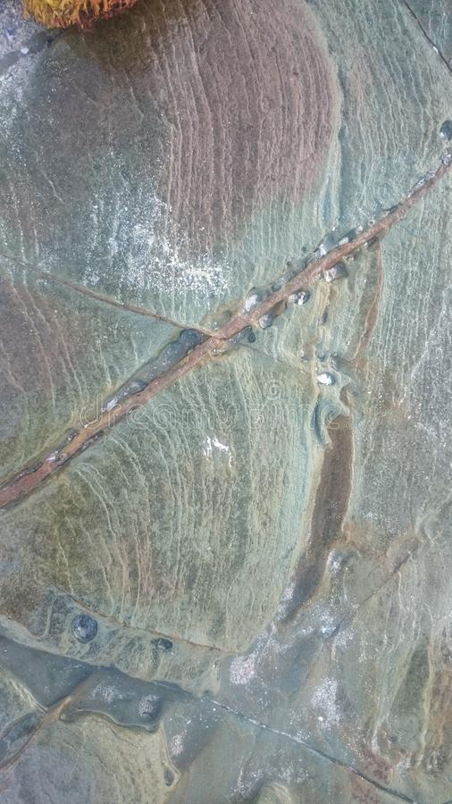 Struttura verde della roccia immagini stock libere da diritti