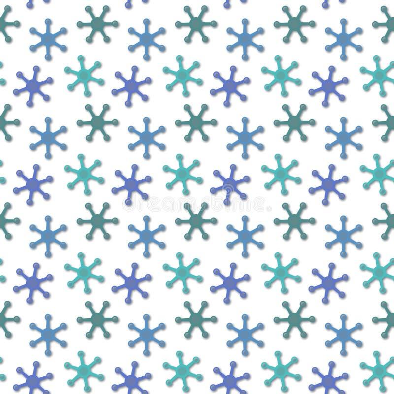 Struttura verde e blu senza giunte astratta royalty illustrazione gratis