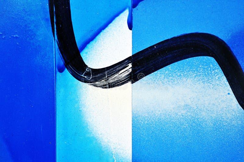Struttura verniciata e spruzzata della parete del metallo fotografie stock libere da diritti