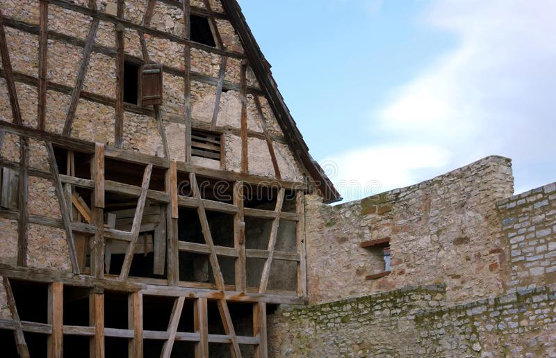 Struttura VII di casa - Waiblingen - la Germania fotografie stock