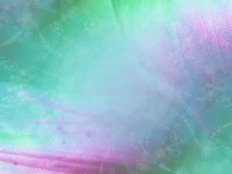 Struttura viola blu del Aqua molle illustrazione di stock