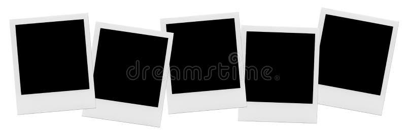 Struttura vuota isolata della foto Struttura in bianco di bianco della foto illustrazione vettoriale