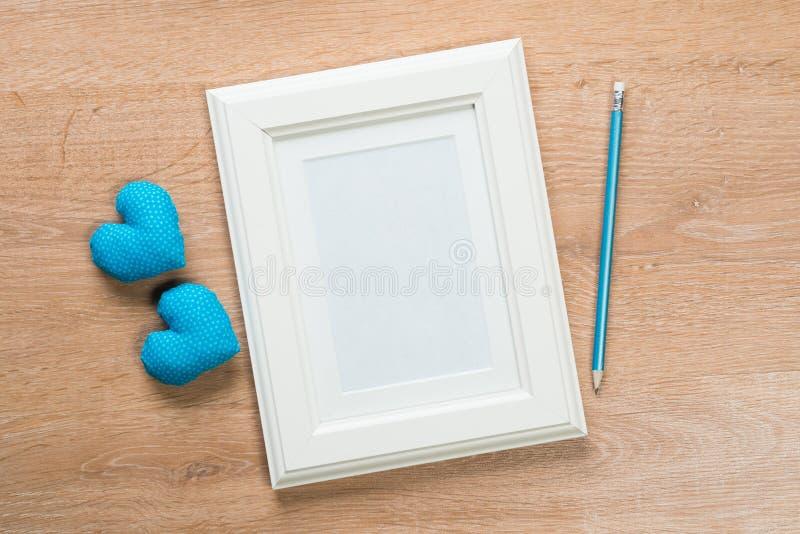 Struttura vuota per la vostra foto fotografia stock libera da diritti
