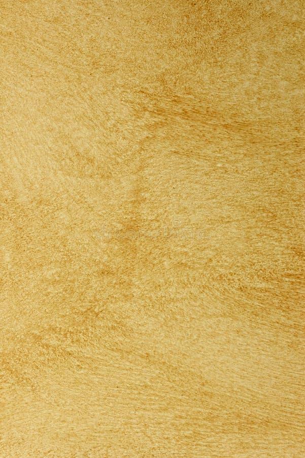 Struttura Yellow-brown della vernice di disegno fotografia stock
