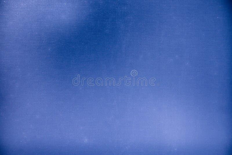 Strutture blu sulla superficie di metallo fotografia stock libera da diritti